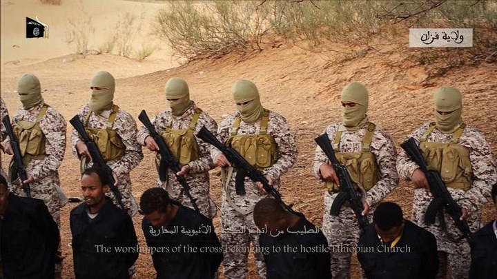 The isis media group that released the horrific footage claims the