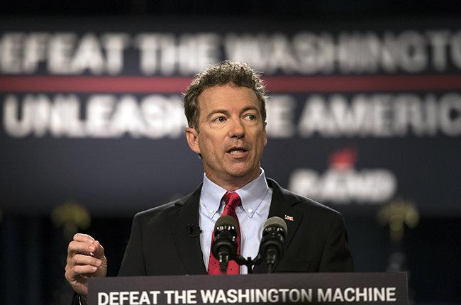 Republican Senator Rand Paul To Announce Presidential Campaign