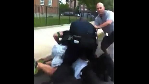 NYPD beat man