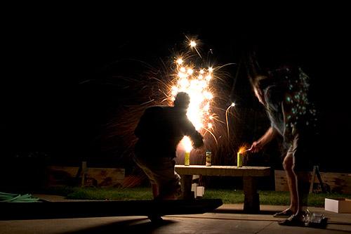 lighting-fireworks
