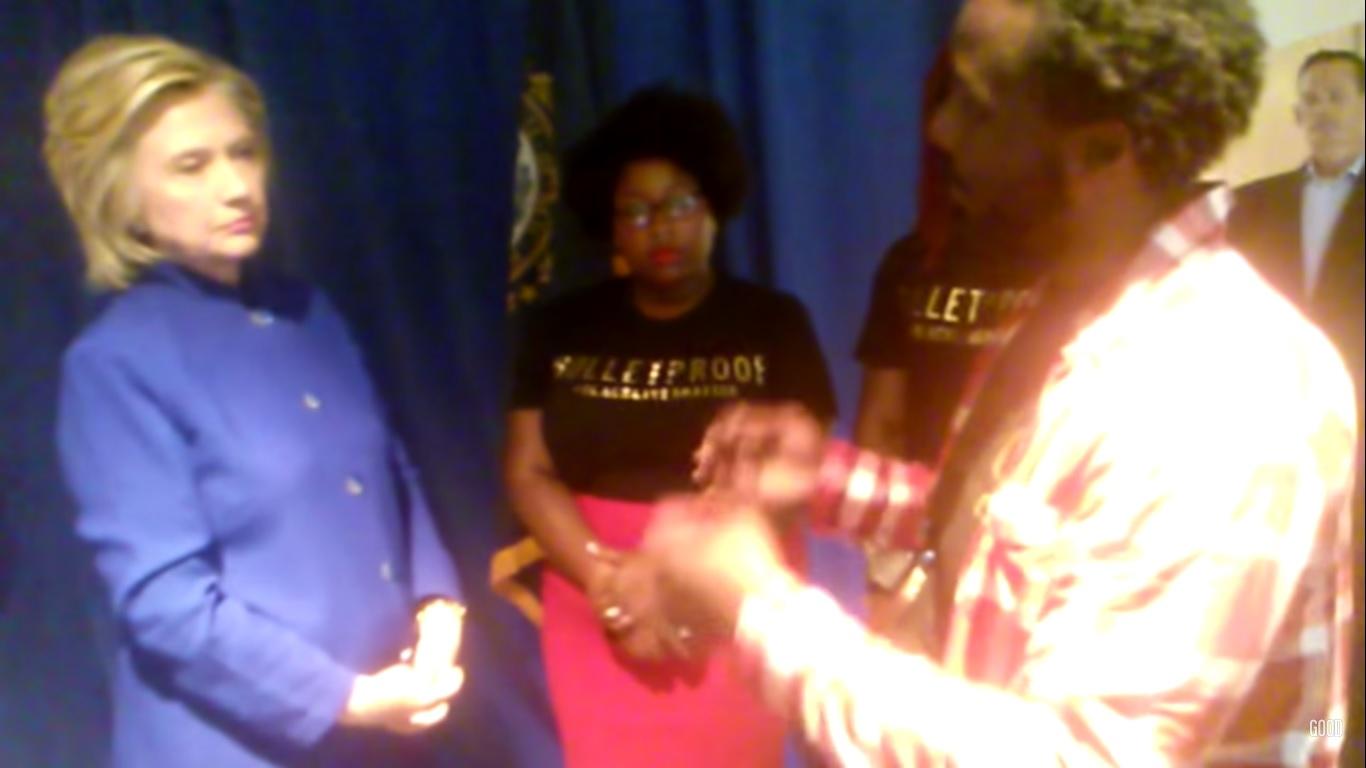 New Video Shows Hillary Clinton Debate Blacklivesmatter