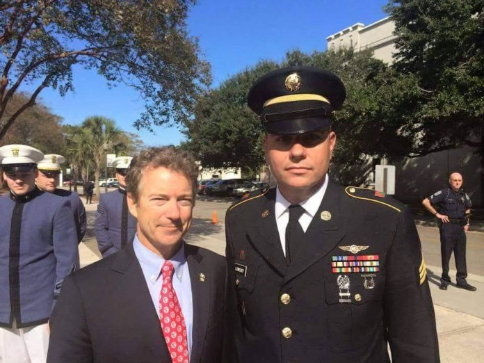 "This is a letter from Sgt. Jonathan Lubecky, Ret., U.S. Army in response as a Veteran to Donald Trump claiming that Sen. Rand Paul is ""weak on the military and Veterans."""