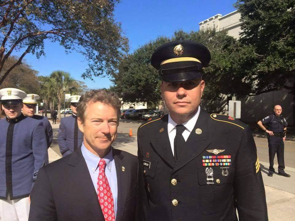"""This is a letter from Sgt. Jonathan Lubecky, Ret., U.S. Army in response as a Veteran to Donald Trump claiming that Sen. Rand Paul is """"weak on the military and Veterans."""""""