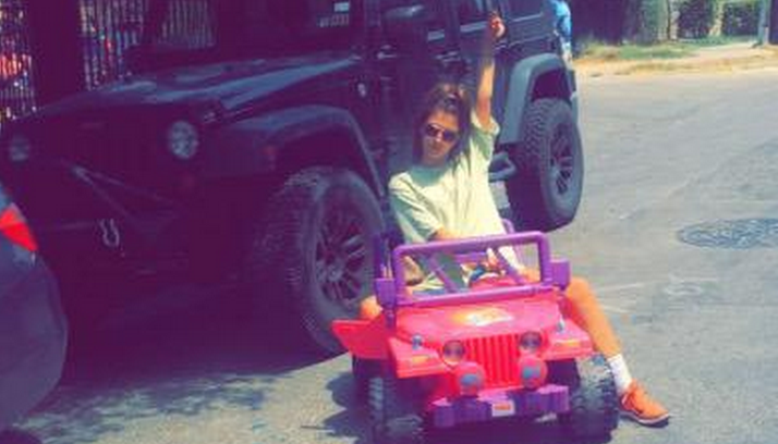Texas State Barbie Jeep