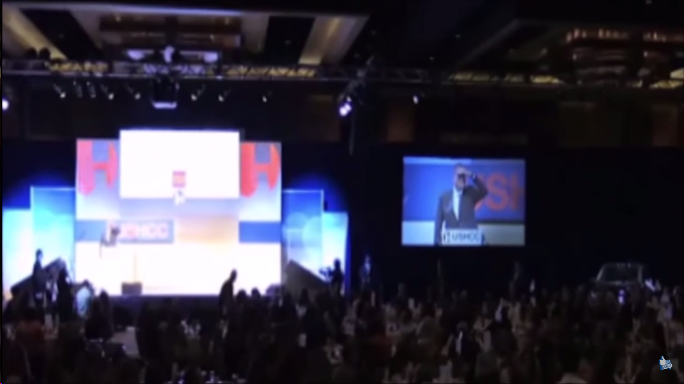 NEW VIDEO: Jeb Bush Heckled During Speech At Hispanic Chamber Of Congress
