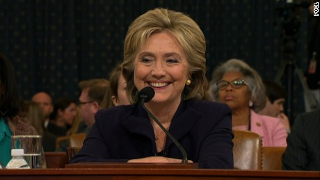 Democratic Presidential front-runner and Former Secretary of State Hillary Clinton addressed the House committee investigating the 2012 attacks in Benghazi.