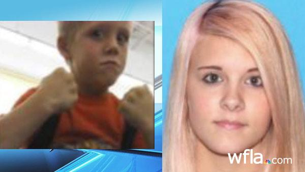 PASCO COUNTY, Fla. – Pasco Sheriff's Office deputies are searching for two children who may be in the company of their older sister.