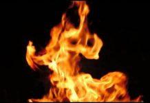 Runs Home on Fire