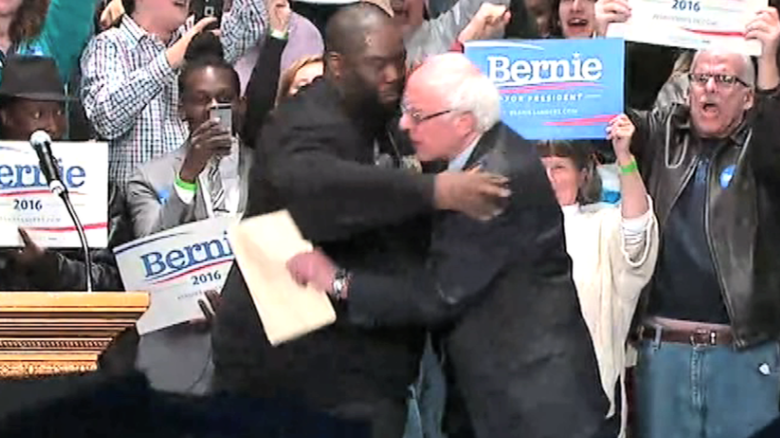 GEORGIA -- Democratic presidential candidate Bernie Sanders held a rally at The Fox Theatre in Atlanta with local leaders and hip-hop artist Killer Mike. (Scroll down for video)