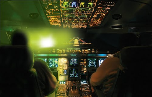 Nearly two dozen aircraft were hit by lasers last night. Shining a laser at an aircraft is a federal crime. It can harm the pilot and passengers. If you see someone pointing a laser at an aircraft, call 911.