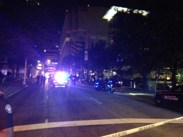 ATLANTA -- Police in Atlanta confirmed an officer-involved shooting at or near the Aloft Hotel Monday night.