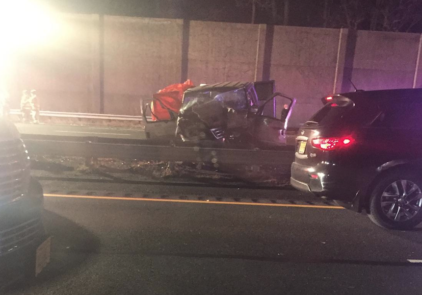 Bernards Township, N.J. - The New Jersey State Police is investigating a triple- fatal crash that occurred in the northbound lanes of Interstate 287 in Bernards Township late last night.