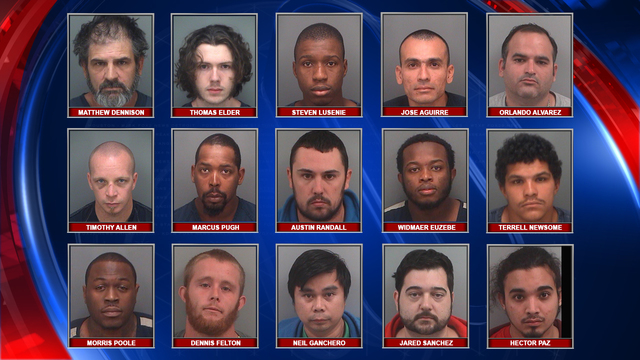 Online Investigators Arrest 15 Men In Operation Wayfarer