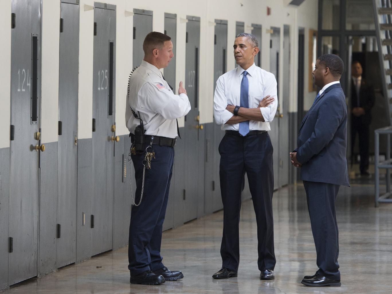 Barack obama bans solitary confinement of juveniles in for Bureau uniform