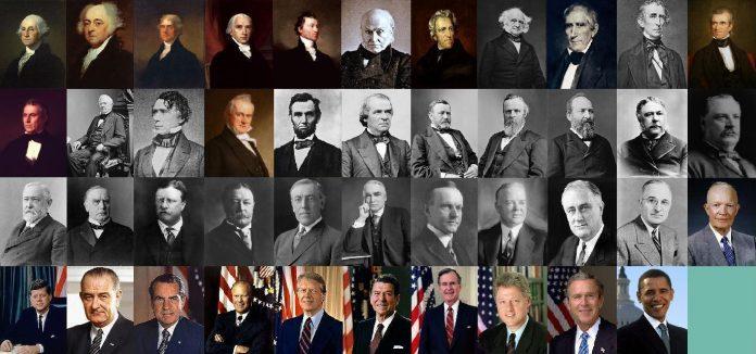 single us presidents