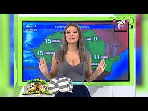 VIRAL VIDEO: Weather Presenter Accidentally Exposes Breasts on Live TV – (NSFW)