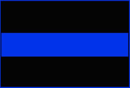 blue officer killed