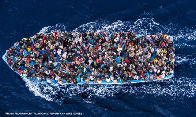 Refugees w CREDIT