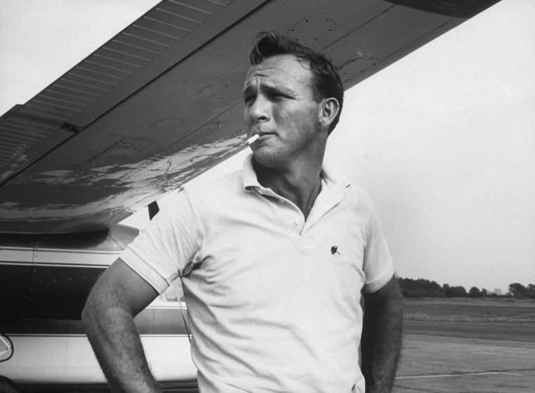 Golfer Arnold Palmer / Photo courtesy LIFE Magazine