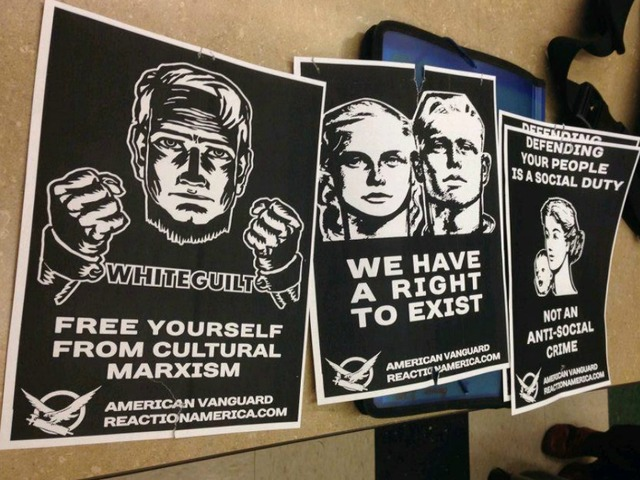 [PHOTO SOURCE: /paworldandtimes.wordpress.com / [Not actual flyers found on campus.]