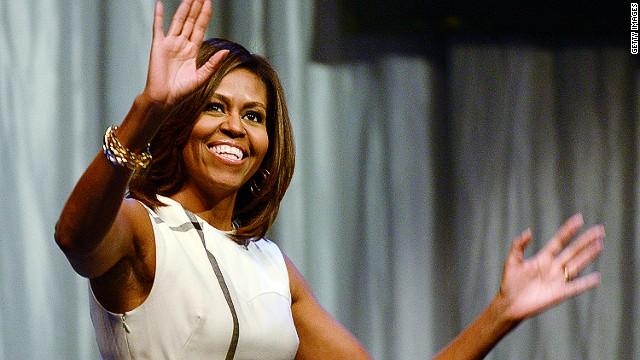Michelle Obama w CREDIT