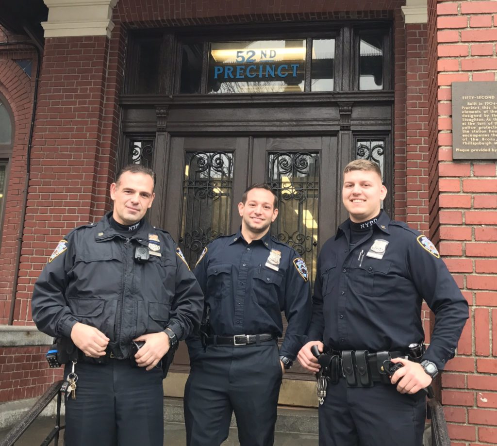 NYPD Officers Save Man's Life Using Tourniquet