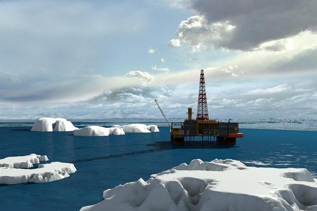 Arctic-drilling