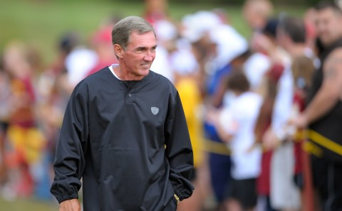 [Former Redskins coach Mike Shanahan is among the organizers of Pacific Pro Football. /  Photo by John McDonnell for THE WASHINGTON POST]