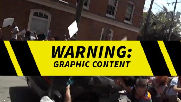 Graphic content charlottesville car attack captured in for A new salon charlottesville va