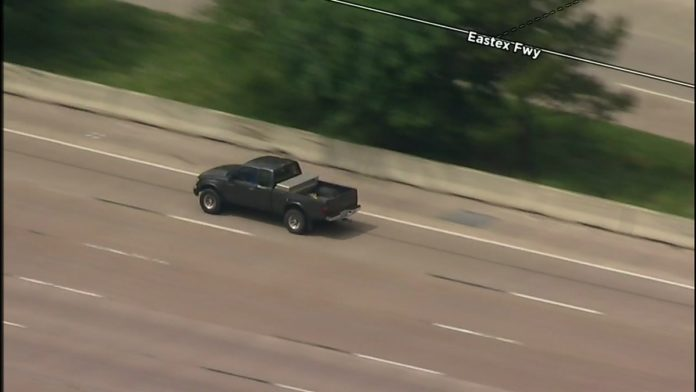 WATCH LIVE NOW: High Speed Police Chase Underway In Houston