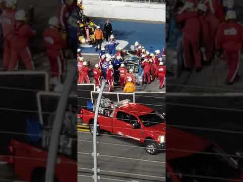 Fan Video Surfaces Showing Ryan Newman Crash, Hectic Emergency Response at Daytona 500 - Breaking911