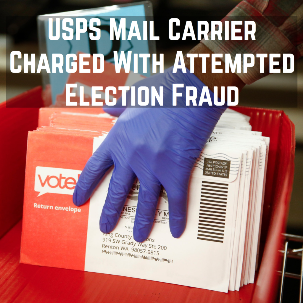 Former USPS Mail Carrier Charged for Tossing More Than 100 Absentee Ballots in Construction Dumpster (lawandcrime.com)