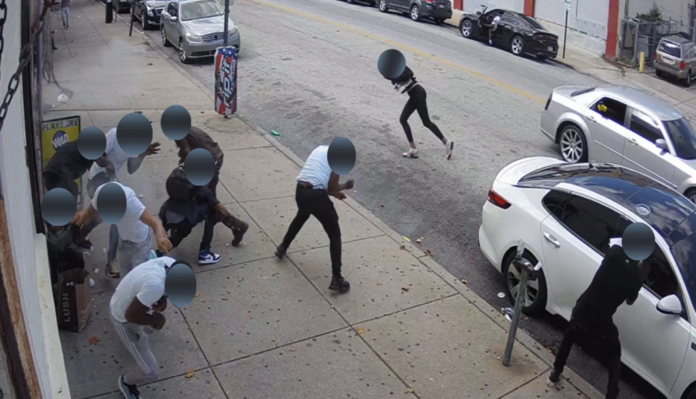 WATCH: Woah: Drive-By Shooting In Philadelphia Where 6 People Were Shot, One Fatally!